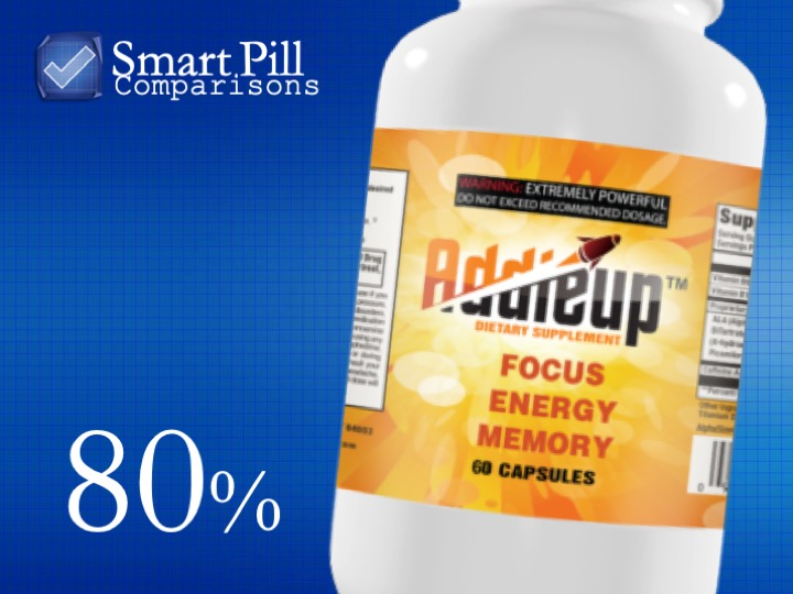 Addieup nootropic brain supplement bottle.